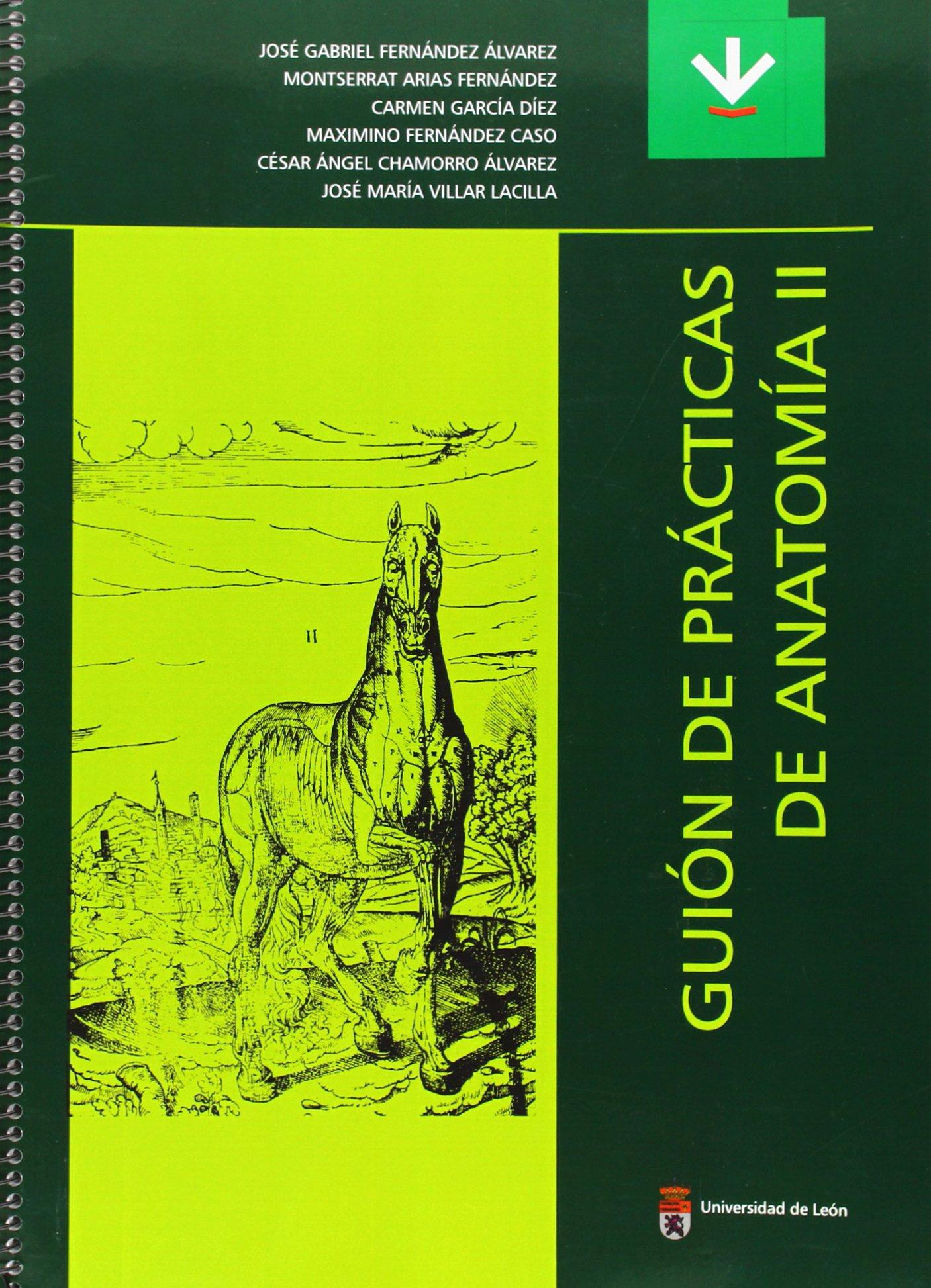Guión de prácticas de Anatomía II (Libros de Texto): Amazon.es ...
