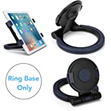 AboveTEK Handheld Desktop Grip Stand (Ring Base Only), to Be Paired with Compatible AboveTEK Tablet Bracket Holders as Swivel Folding Desk iPad Stand Clamp Mount for Home Kitchen POS Kiosk Travel Use