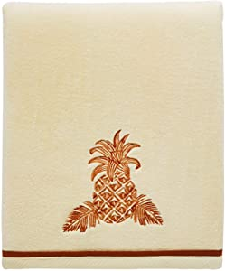 Tommy Bahama Batik Pineapple, Bath Towel, Orange
