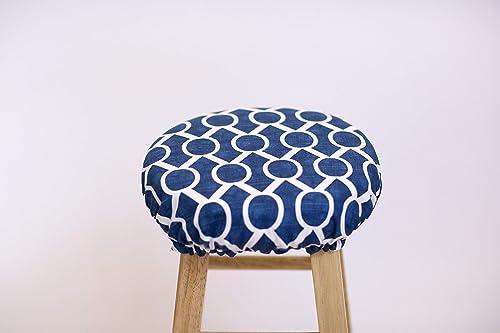 Awesome Amazon Com Round Bar Stool Cover 12 20 Diameter Modern Ncnpc Chair Design For Home Ncnpcorg