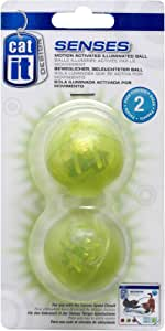 Catit Design Senses Illuminated Ball - 2-Pack