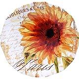 "Certified International Paris Sunflower Round Platter, 15"", Multicolor"