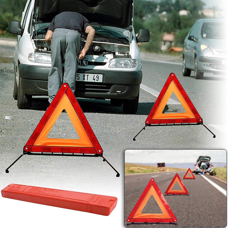 safekom Reflektierende Warnschild Faltbar Triangle Auto Hazard Breakdown Not UK//EU