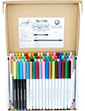 Crayola Super Tips Marker Set, 43 Unique Colors, Doubles of Favorite 25 Colors & 12 Scented Shades, 80Count, Gift