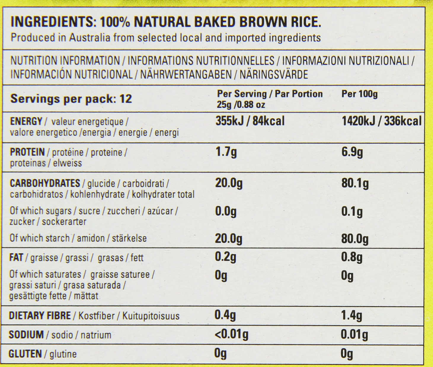 OrgraN All Purpose Rice Crumbs, 10.5-Ounce Boxes (Pack of 8) by Orgran (Image #4)
