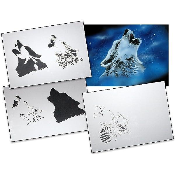 Step by Step Stencil AS-314 Colibri ~ UMR Airbrush Stencil