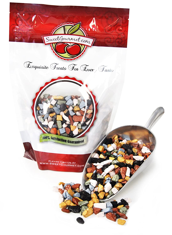 Amazon.com : SweetGourmet Candy Coated Chocolate Rocks (6oz ...