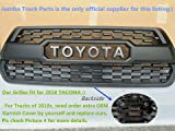 Tacoma TRD PRO Grille Matte Black Fit for TOYOTA