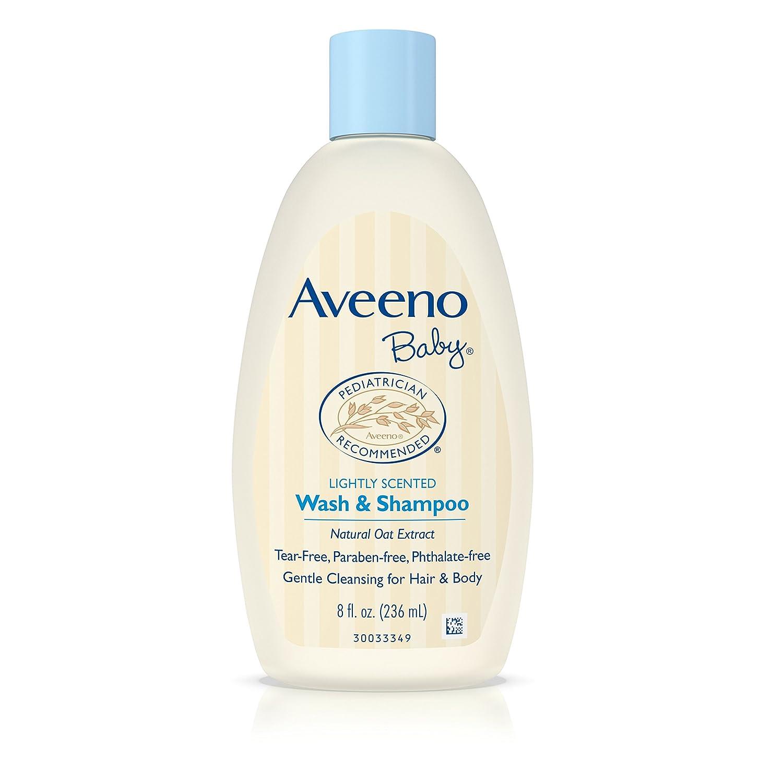 Aveeno Baby Wash & Shampoo For Hair & Body, Tear-Free, 8 oz. JJ-008