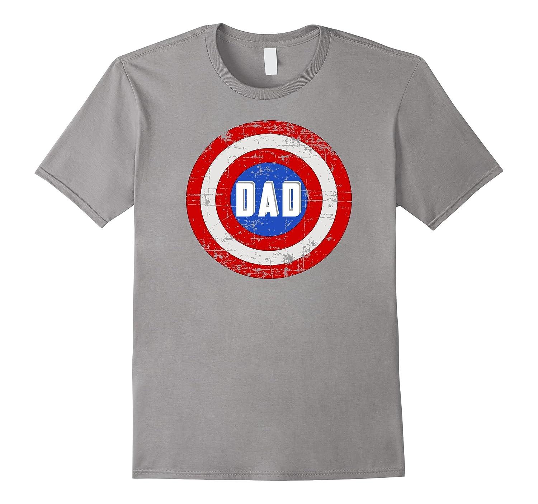 5e4eb571 Super Dad T-Shirt Funny Superhero Fathers Day Tee Shirt-TH - TEEHELEN