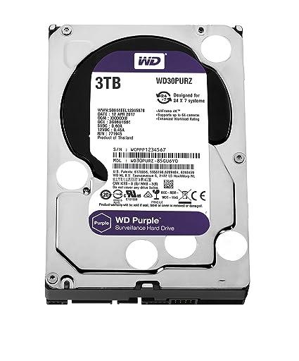 Amazon wd purple 3tb surveillance hard disk drive 5400 rpm wd purple 3tb surveillance hard disk drive 5400 rpm class sata 6 gbs m4hsunfo