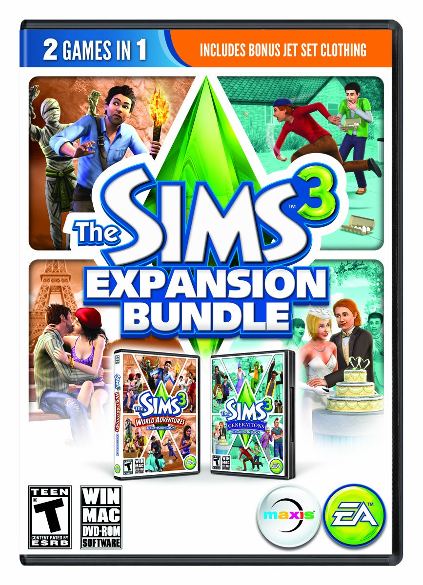 how to get expansion packs for sims 3