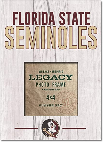One Size Custom LEAGUE/&CO NCAA Florida State Seminoles 4 x 4 Picture Frame 9x74 x 4 Picture Frame 9x7