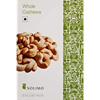 Amazon Brand - Solimo Premium Cashews, 250g