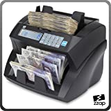 The ZZap NC30 Banknote Counter & Counterfeit Detector - Counts all world currencies, 5-fold counterfeit detection, 1900 notes/min and more!