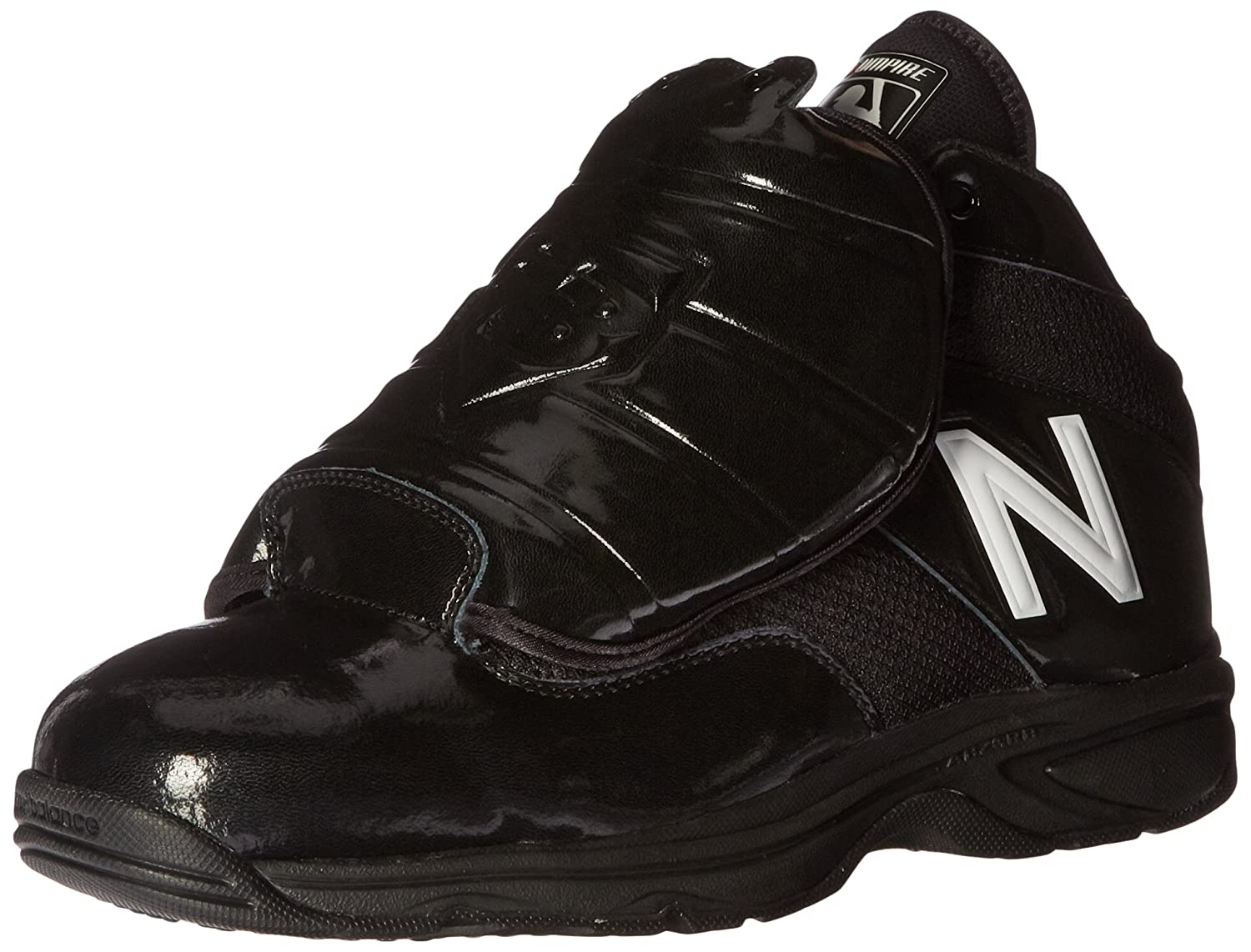 New Balance Men's mu460v3 Baseball Shoe B01CQTFFZM 12.5 2E US|Black/White