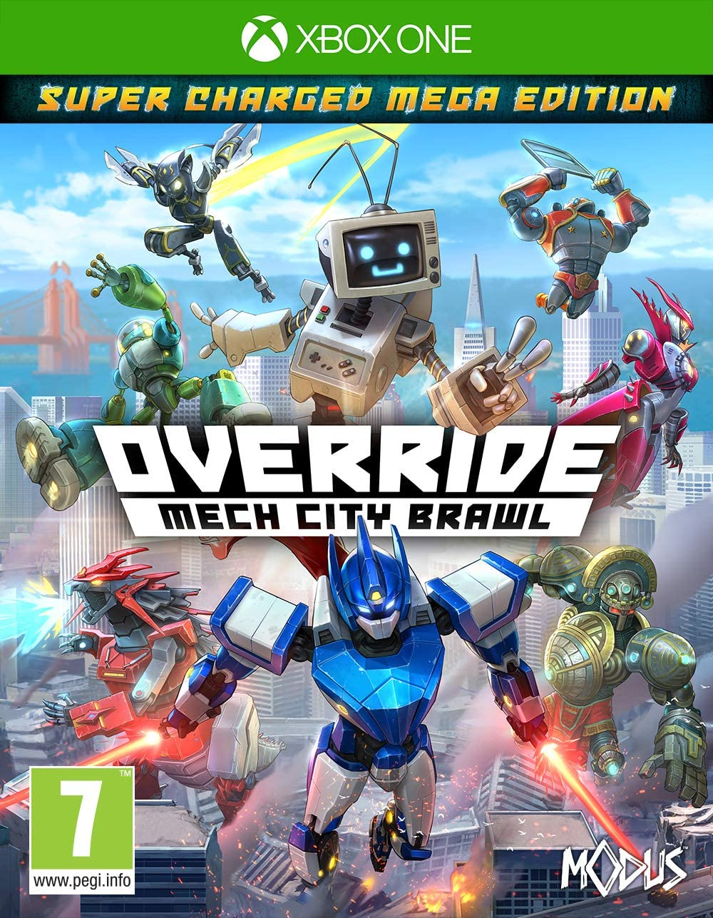 Override: Mech City Brawl - Super Charged Mega Edition ...