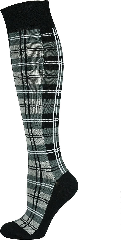 Mysocks Knee High Ribbed Socks