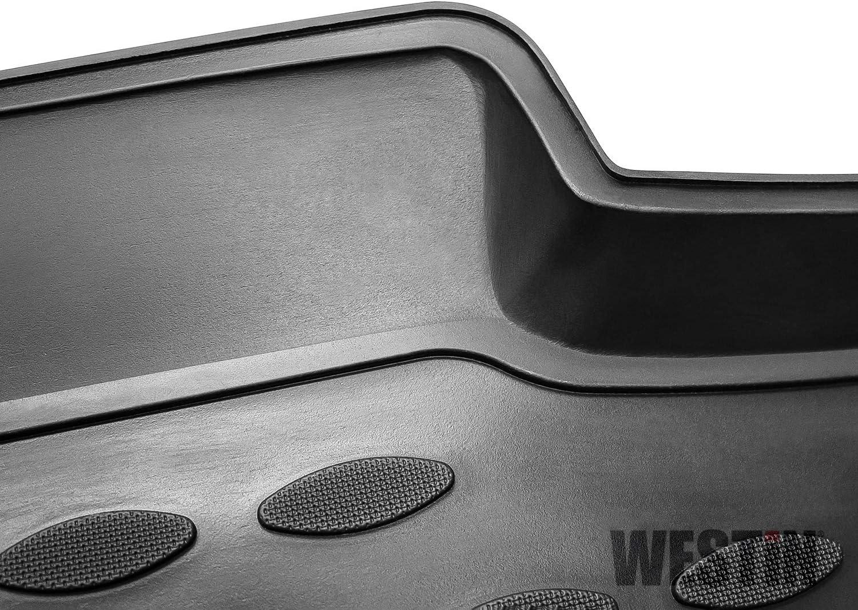 Westin 74-29-41007 Profile Custom Fit Floor Liners Front /& 2nd Row fits Mitsubishi Lancer Sedan 2008-2017 All Weather Waterproof Heavy Duty Floor Mat