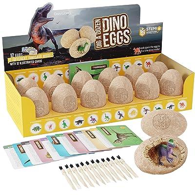 Dig a Dozen Dino Eggs Dig Kit
