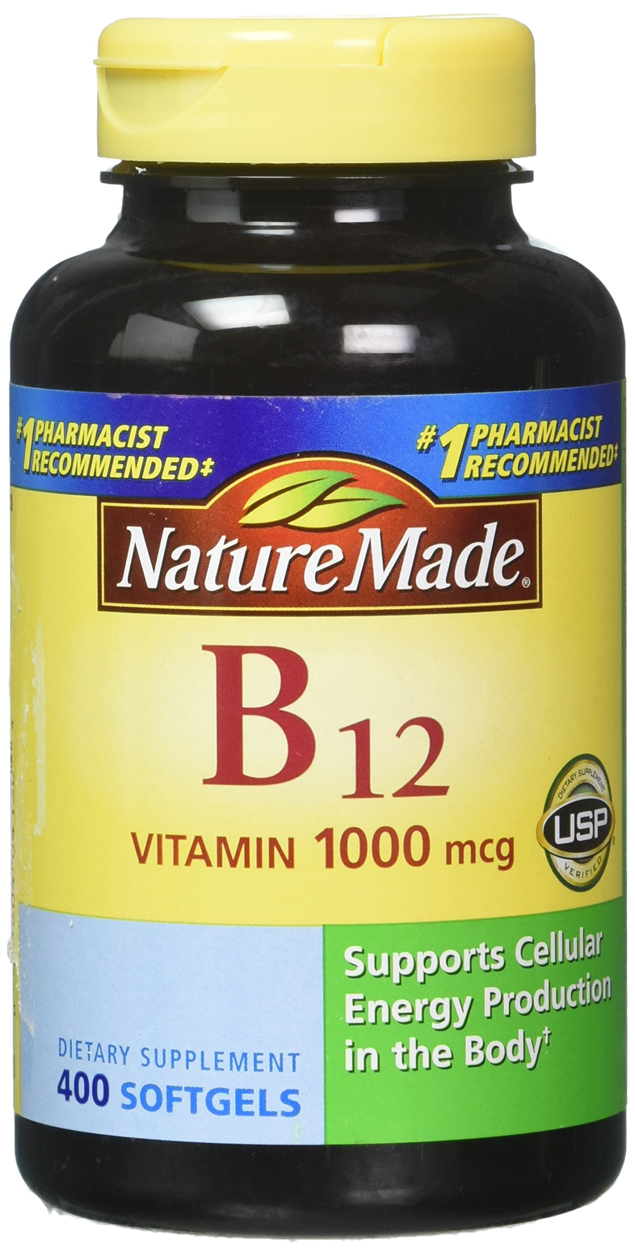 Nature Made Vitamin B-12 1000mcg 400 Softgels