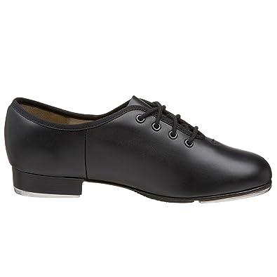 Capezio Cg55 Capezio Xreme Step Schuhe, Zapatos de Claqué de Cuero, Unisex, Negro (Schwarz Bom), 37.5 EU (4.5 UK, 6.5 US)
