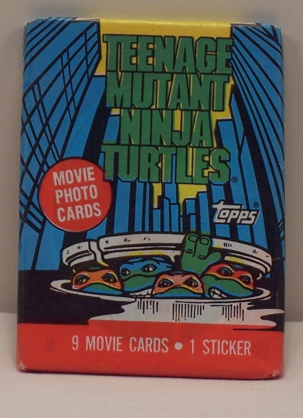 Teenage Mutant Ninja Turtles Trading Card Pack