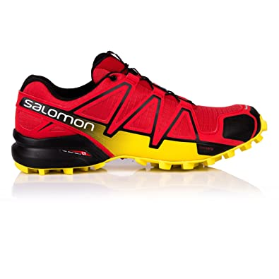 306dbf3d09d Salomon Homme Speedcross 4 Chaussures de Course à Pied et Trail Running