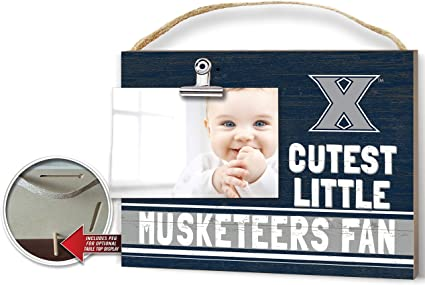 KH Sports Fan Clip It Colored Baby Logo Photo Frame Xavier Ohio Musketeers