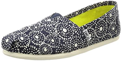 Toms Classic Tan Shibori Dots Womens Espadrilles Shoes-8 SfXYM