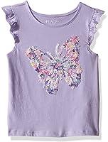 The Children's Place Girls' Flutter Sleeve Top