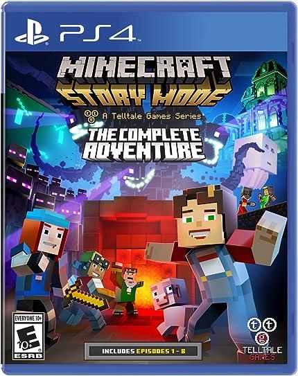 Amazoncom Minecraft Story Mode The Complete Adventure - Ps4 spiele minecraft amazon