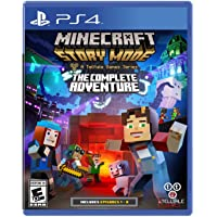 Minecraft: Story Mode The Complete  Adventure - PlayStation 4 - Standard Edition
