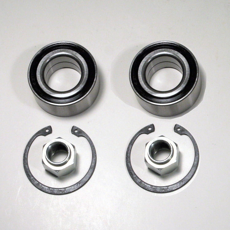 2 x Radlager/Radlagersatz für vorne/für die Vorderachse