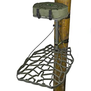 XOP-XTREME OUTDOOR PRODUCTS Air Raid Cast Aluminum Tree Stand – Aluminum Deer Stand for Hunting