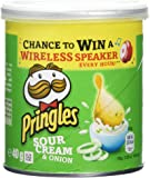Pringles Sour Cream and Onion Flavour Potato Chips 40 g (Pack of 12)