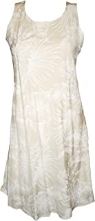 product image for Paradise Found Womens Midnight Garden Wedding White Short Tank Dress
