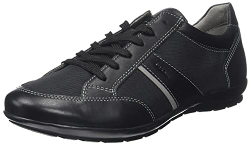 U Avery a, Zapatillas para Hombre, Negro (Black), 39 EU Geox
