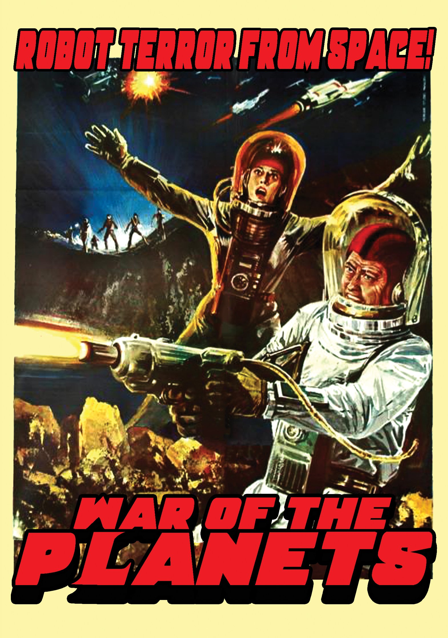 DVD : War Of The Planets (DVD)
