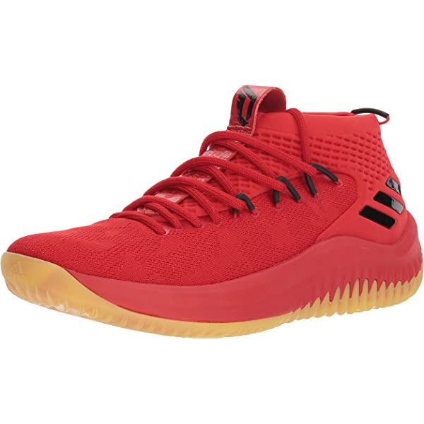 Great Beautiful Basketball Shoes For Men Red adidas