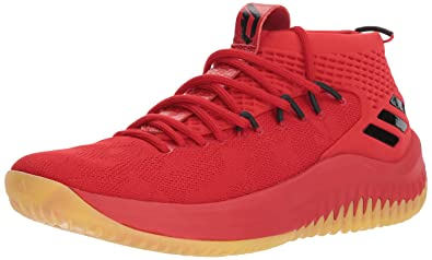 innovative design b2ce4 c5aed adidas Performance Dame 4 Shoe Mens Basketball, Scarlet  Hi-res Red  Core