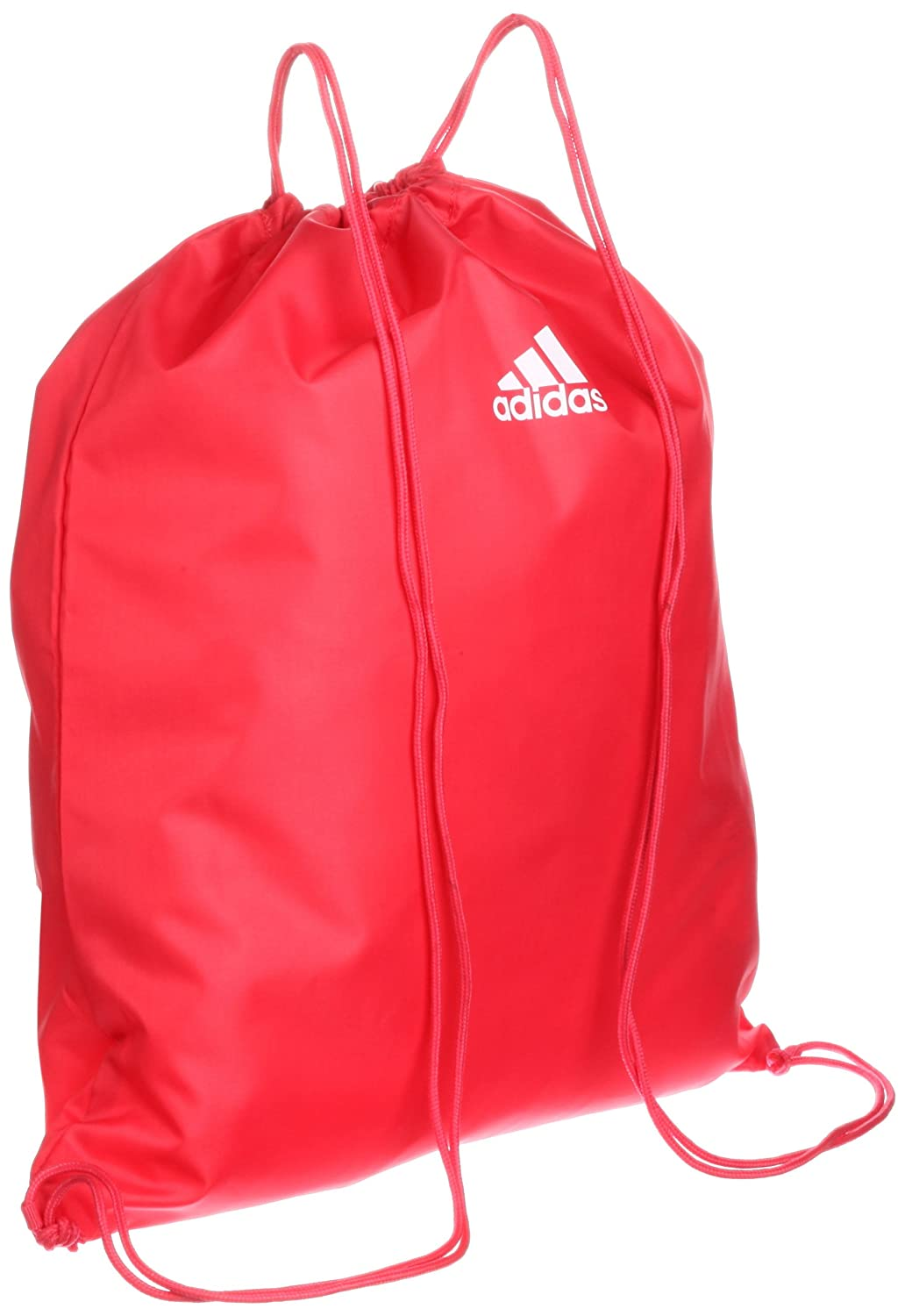 2c753f871b Adidas Gym Bag Linear Essential School Bag Sports Bag Shoe Bag Drawstring  Bag Red White Z26361 New  Amazon.co.uk  Sports   Outdoors