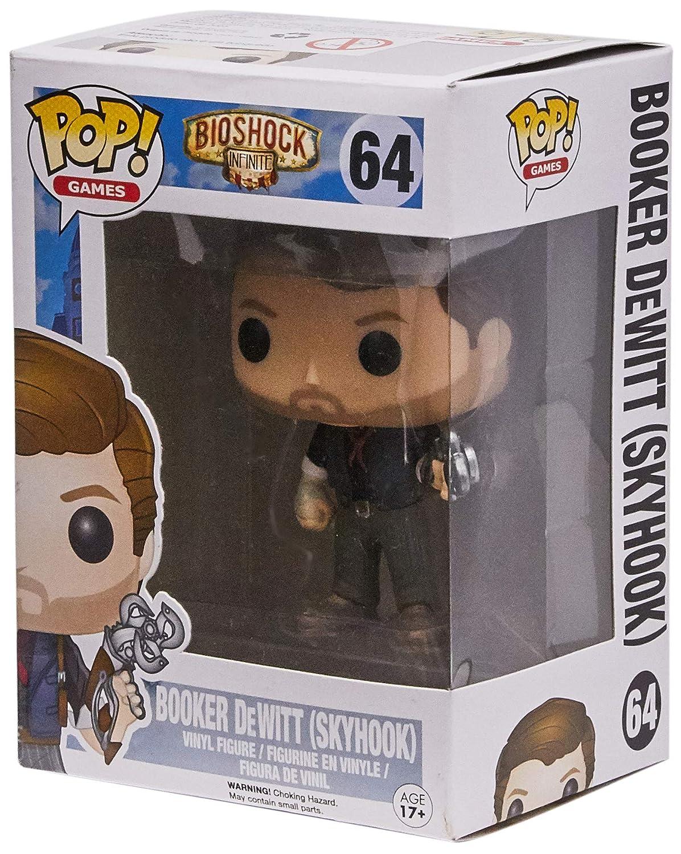 Funko POP Games Skyhook Booker Dewitt Action Figure 6167 Accessory Toys /& Games Miscellaneous Bioshock