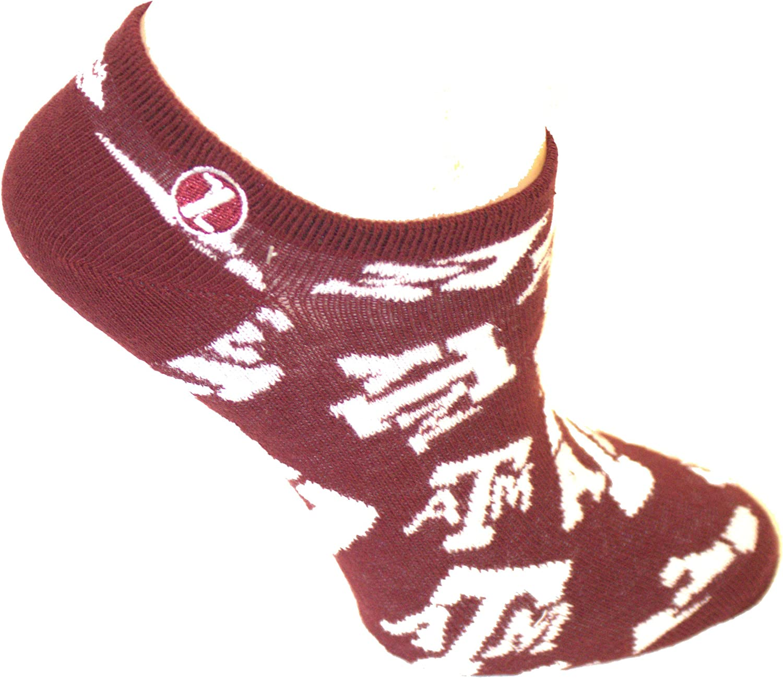 Texas A/&M Aggies Woodland Camo Crew Socks