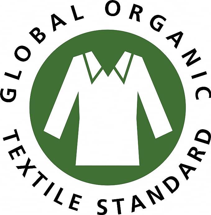 Albornoz para hombre y mujer, tejido de rizo de 100% algodón ecológico, certificación GOTS, ideal como bata y para sauna, 440 g/m², algodón, azul, ...