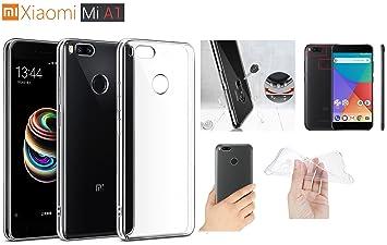iPOMCASE Carcasa Suave Gel Transparente antigolpes Xiaomi Mi ...