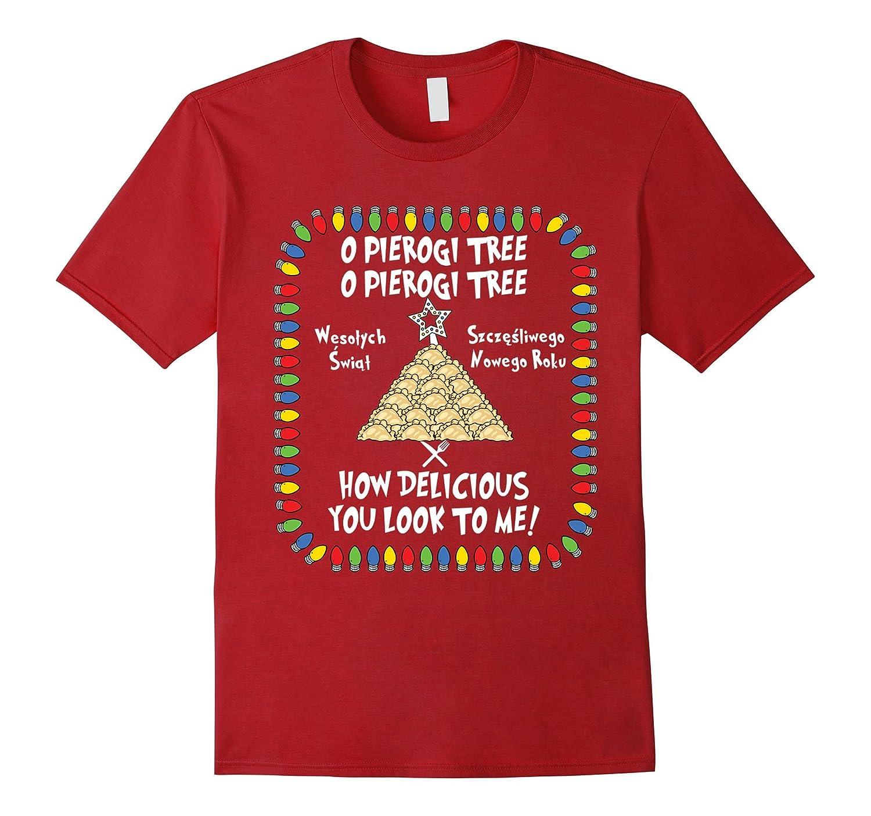 Amazon: Pierogi Tree Christmas Ugly Christmas Tacky Holiday Tshirt:  Clothing