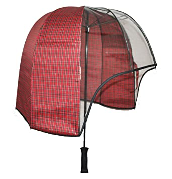 0afc40a2eacf7 windproof dome umbrella Tartan - tested strong lightweight vented canopy  free carrying shoulder sleeve. by Rainshader: Amazon.co.uk: Sports &  Outdoors