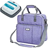HOMEST Heat Press Machines Carrying Case, Compatible with 9 x 9 inches Cricut Easy Press 2, Purple (Patent Pending)
