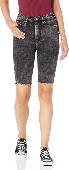 True Religion Women's CAIA High Rise Knee Short women's shorts